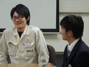 懇談の様子[マーレエンジンコンポーネンツジャパン(株)]